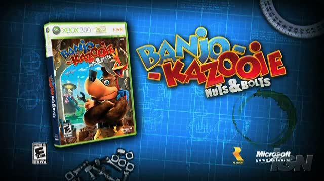 Banjo-Kazooie Nuts & Bolts Xbox 360 Clip-Commercial - Go Nuts TV Spot