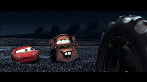 Cars Blu-ray Combo Pack (2006) - Clip Tractor Tipping 1