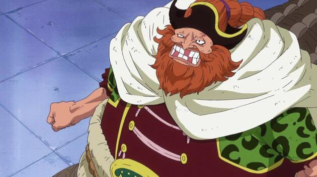 One Piece - Episode 615 - Brownbeard in Grief! Luffy Lands a Furious Blow!