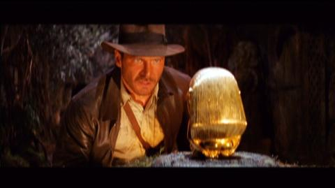 Indiana Jones and the Raiders of the Lost Ark The Complete Adventures Blu-Ray (1981) - Clip Indian Jones Swipes Idol