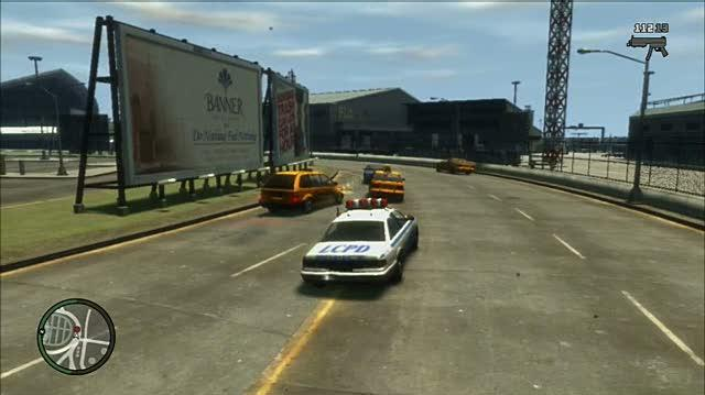 Grand Theft Auto IV Xbox 360 Gameplay - Airport Romp (PS3)
