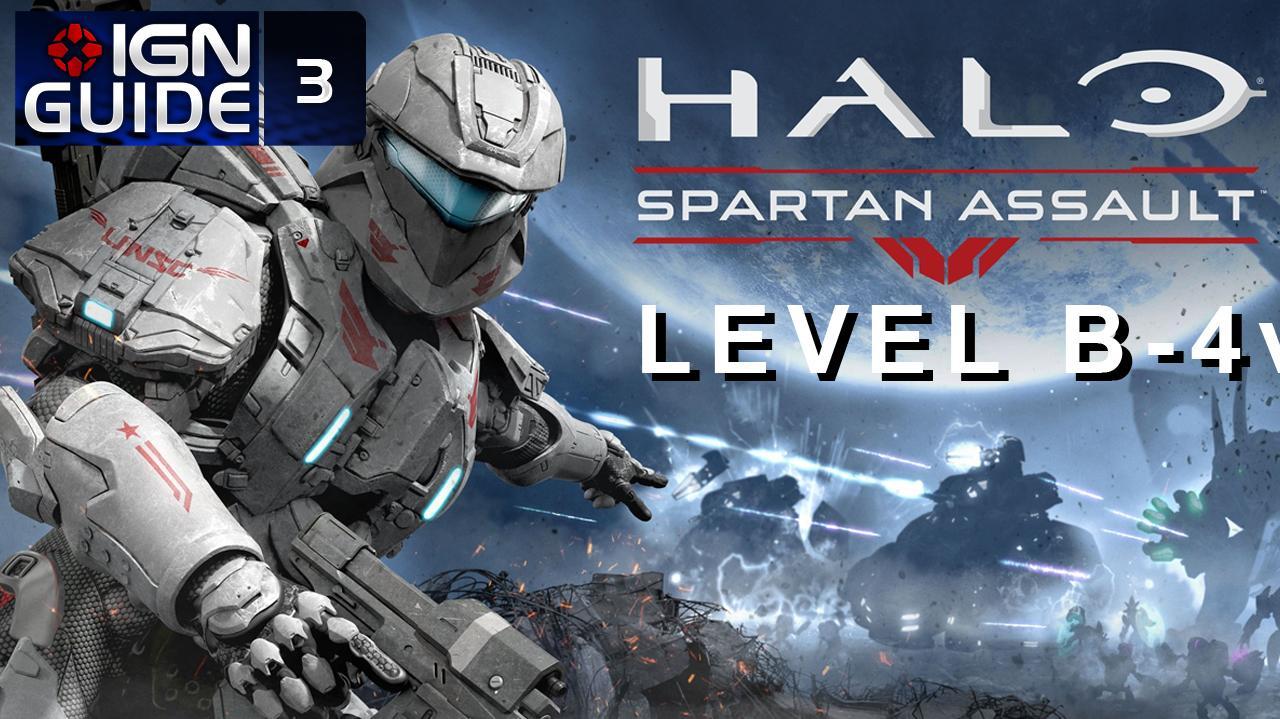 Halo Spartan Assault Walkthrough - Level B-4 Battle for Epsilon Expanse (Part 9)