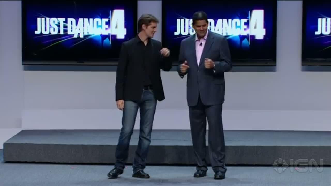 Just Dance 4 Gameplay - E3 2012-0