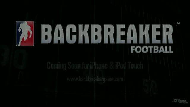 Backbreaker Football Tackle Alley Wireless Game Trailer - Debut Trailer