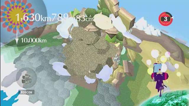 Beautiful Katamari Xbox 360 Gameplay - Katamari Dancing