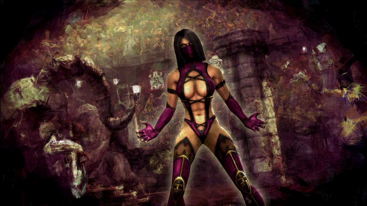 Mortal Kombat Mileena Ending Video
