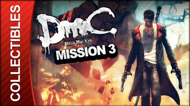 DmC Devil May Cry Mission 3 Bloodline Collectible Locations - All Keys Doors and Lost Souls