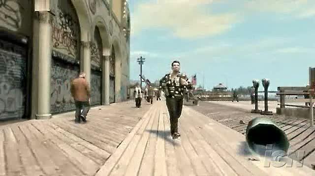 Grand Theft Auto IV Xbox 360 Trailer - Roman Bellic