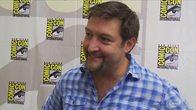 Smallville TV - SDCC 10 Brian Peterson