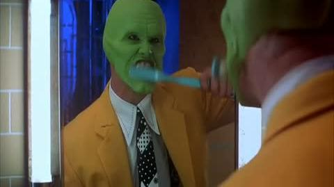 The Mask - putting The Mask on