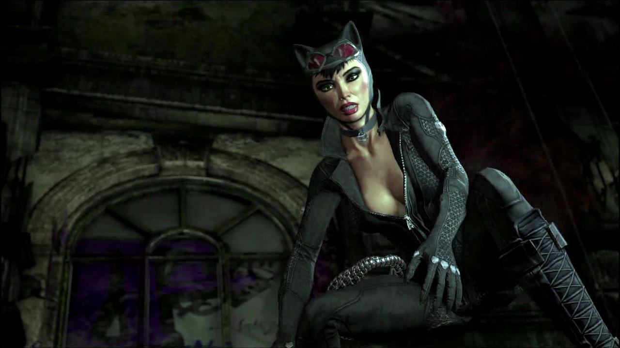 Batman Arkham City - Catwoman Rewind Theater