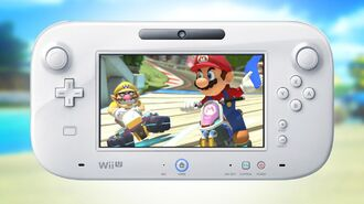 Up Close and Personal with Mario Kart 8's GamePad Features