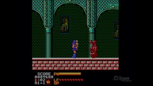 Astyanax Retro Game Gameplay - Gameplay
