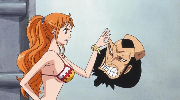 One Piece - Episode 582 - Startling! the Secret of the Island Is Finally Revealed!