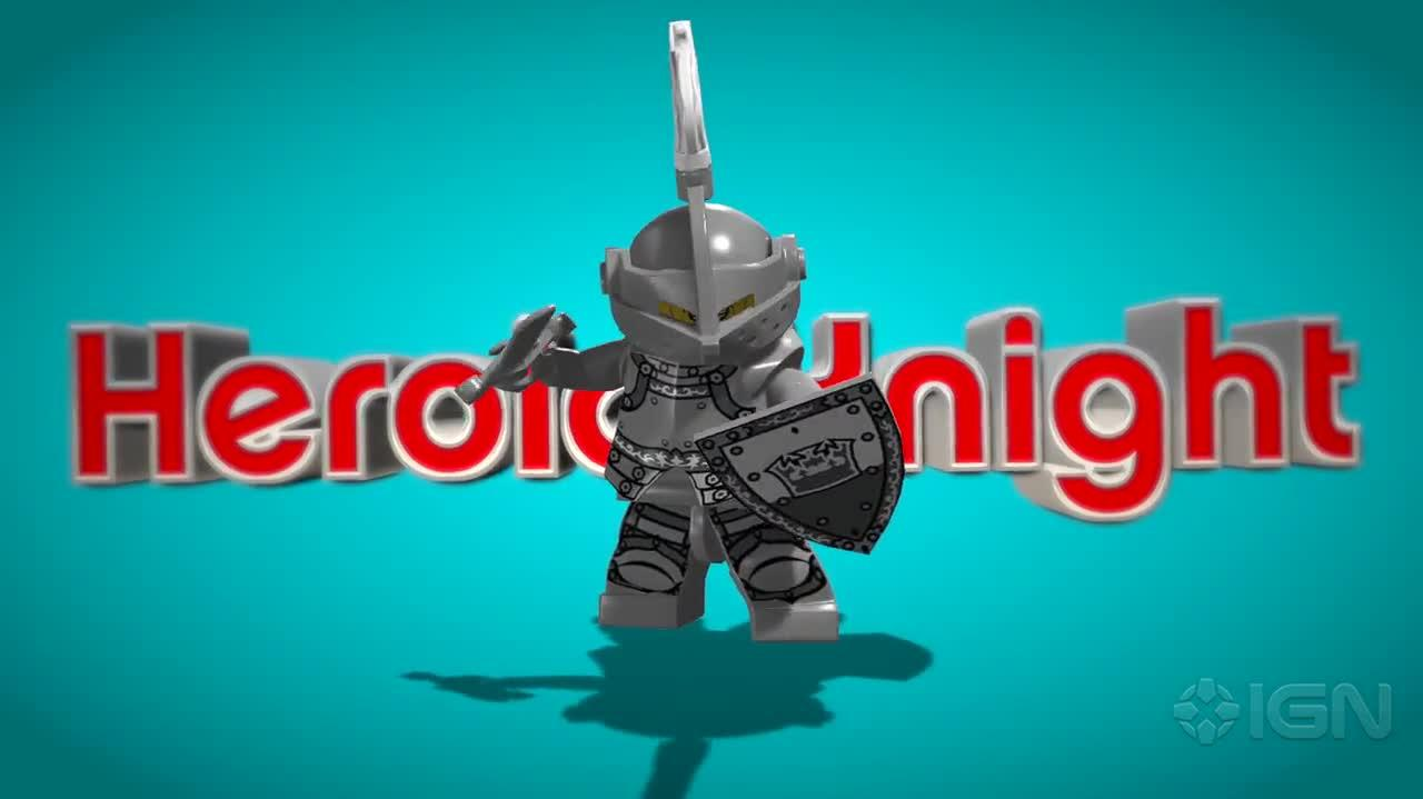 Lego Minifigures Online Intro Trailer