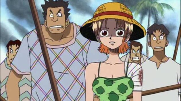 One Piece - Episode 41 - Luffy at Full Power! Nami's Determination and the Straw Hat!