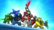 Tenkai Knights Brave Battle - Gameplay Trailer