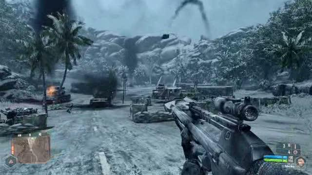 Crysis Warhead PC Games Gameplay - GC 2008 Icy Showdown
