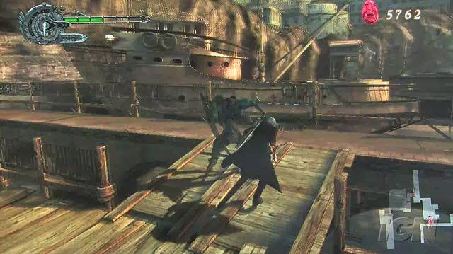 Devil May Cry 4 PlayStation 3 Gameplay - Monsters Galore (Off-Screen HD)