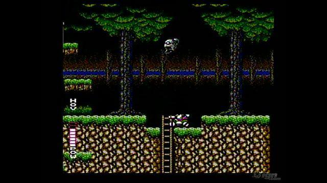 Blaster Master Retro Game Gameplay - Gameplay