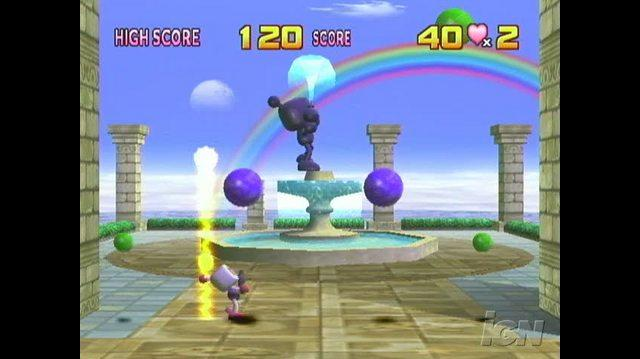 Bomberman Land Nintendo Wii Gameplay - Laser Ball