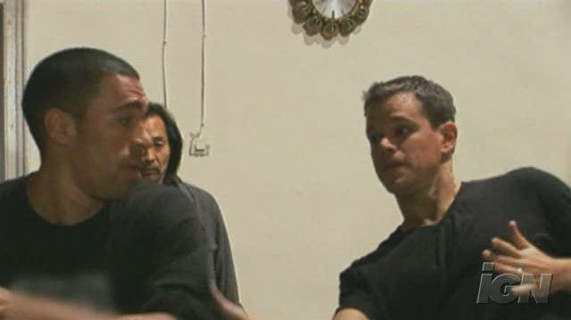 The Bourne Ultimatum DVD Feature-Behind-the-Scenes - Fight Blocking
