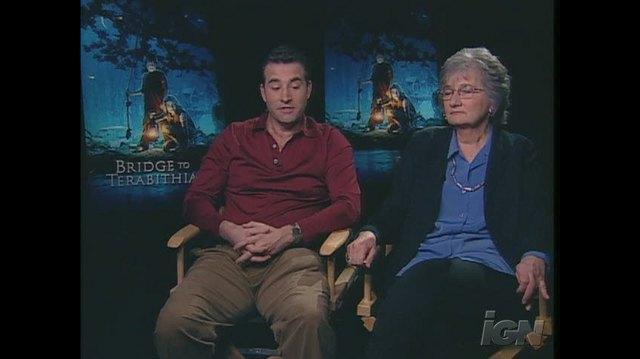 Bridge to Terabithia Movie Interview - KATHERINE & DAVID PATERSON