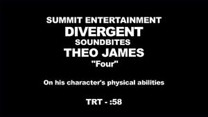 Divergent - Theo James Interview 'Physical Abilities'