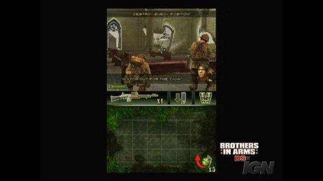 Brothers in Arms DS Nintendo DS Video - Gameplay Trailer