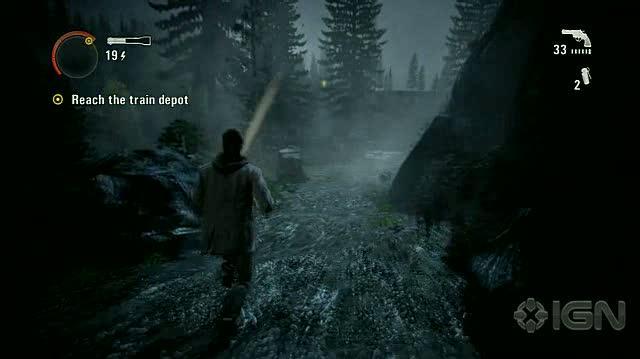 Alan Wake X360 - Walkthrough - Alan Wake - Nightmare Difficulty - Episode 3 - Bridge