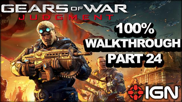 Gears of War Judgment Walkthrough - Motor Pool - Declassified Mission and Cog Tag (Part 24)
