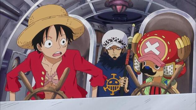 One Piece - Episode 626 - Caesar Goes Missing! The Pirate Alliance Makes a Sortie!