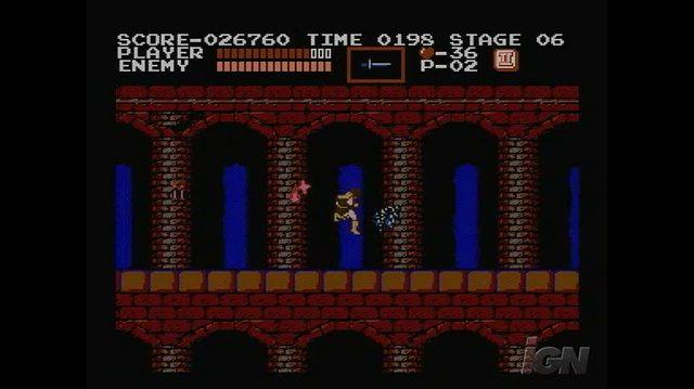 Castlevania Retro Game Gameplay - Medusa