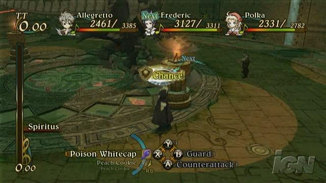 Eternal Sonata Xbox 360 Gameplay - Challenging Battle