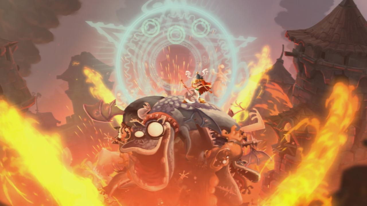 Rayman Legends Walkthrough Teensies in Trouble - Castle Rock
