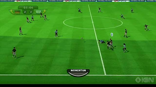 2010 FIFA World Cup South Africa Nintendo Wii Gameplay - Germany vs