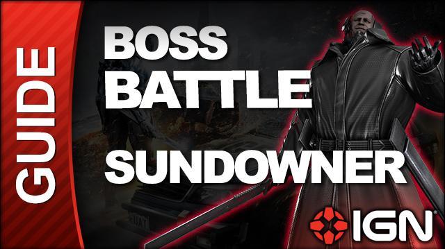 Metal Gear Rising Revengeance - Sundowner Boss Fight, Revengeance Difficulty