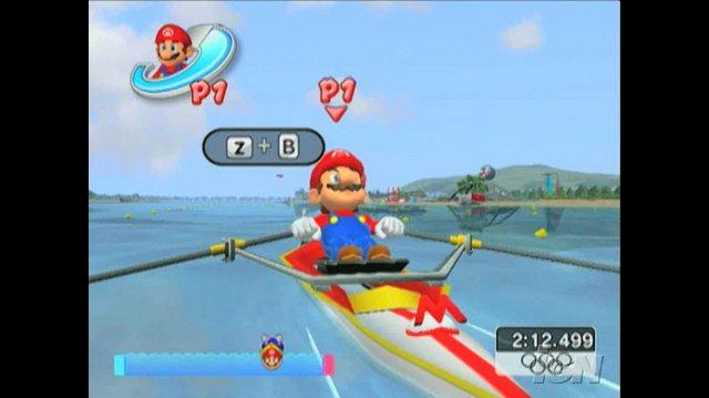 Mario & Sonic at the Olympic Games Nintendo Wii Trailer - Boat Rowing