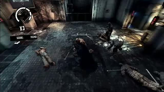 Batman Arkham Asylum Video - Batman Arkham Asylum Dominate the Challenge Rooms