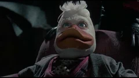 Howard the Duck - landing on earth
