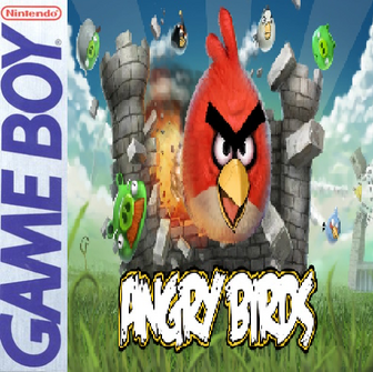 Angry Birds Gameboy Cover