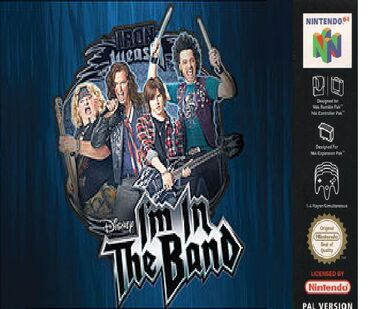 I'm in the band Nintendo 64 game cover