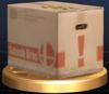 Cardboard Box - Brawl Trophy