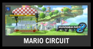 Super Smash Bros. Strife stage box - Mario Circuit