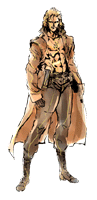 Brawl Sticker Liquid Snake (MGS The Twin Snakes)