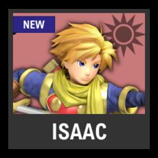 Super Smash Bros. Strife character box - Isaac