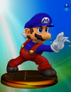 Mario Trophy (Smash 2) melee