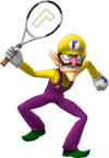 Super Smash Bros. Strife recolour - Waluigi 3