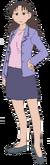 Yukari (different clothing) 1