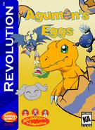 Agumon's Eggs Box Art 1